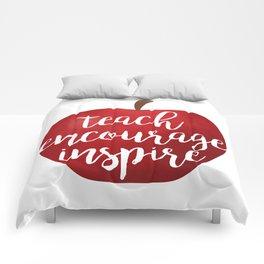 Teach Encourage Inspire Comforters