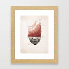 Energy Release Framed Art Print