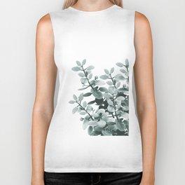 Eucalyptus Leaves Green Vibes #1 #foliage #decor #art #society6 Biker Tank