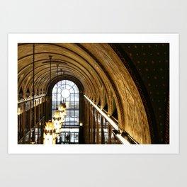 Arching Fisher Art Print