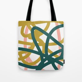 Abstract Lines 02A Tote Bag