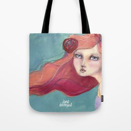Beautiful Faces by Jane Davenport Tote Bag