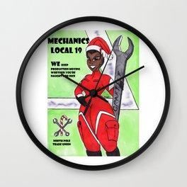 North Pole Elf PSA 2 Wall Clock