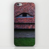 medieval iPhone & iPod Skins featuring Medieval Roof by Rainer Steinke