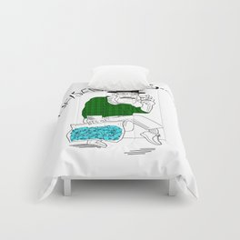 Fear and Loathing in Albuquerque (Breaking Bad) Comforters