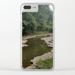 The River Bottom Clear iPhone Case