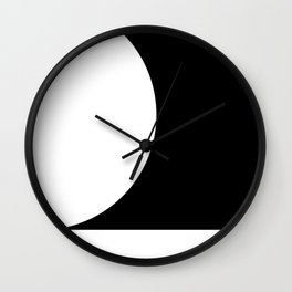 Quadrant Sphere Wall Clock
