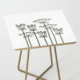 wild carrots Side Table