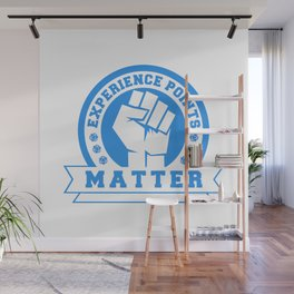 D20 Experience Points Matter Wall Mural