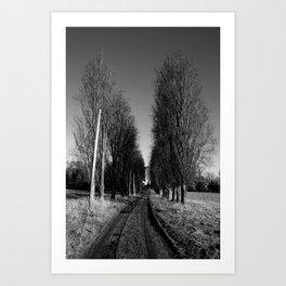 Path of Destiny  Art Print
