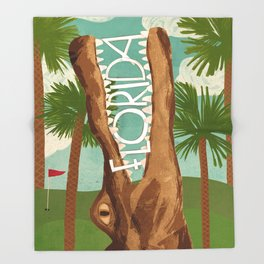 Florida Throw Blanket