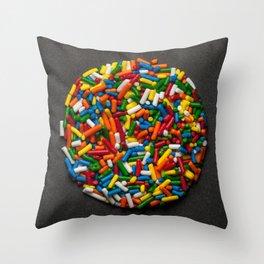 Sprinkles 02 Throw Pillow