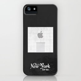 """This is New York for me. """"5th Ave Store"""" iPhone Case"""
