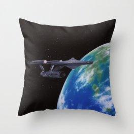 Super Earth Throw Pillow