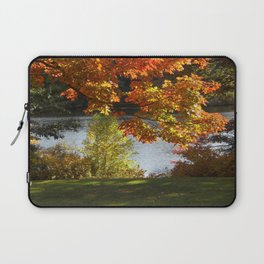 Fall Lake View, Wellesley College Laptop Sleeve