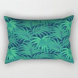 Palm leaves VIII Rectangular Pillow
