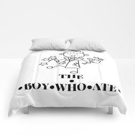 The Boy Who Ate Line Art - Ron Weasley Comforters