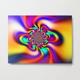 Smooth Operator Metal Print