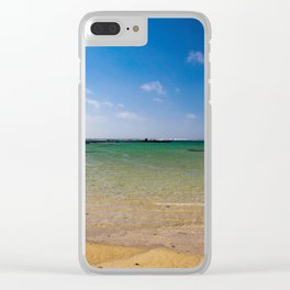 The Beach Clear iPhone Case