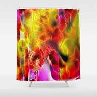 holiday Shower Curtains featuring Holiday by BeachStudio