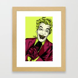 Joker On You 2 Framed Art Print