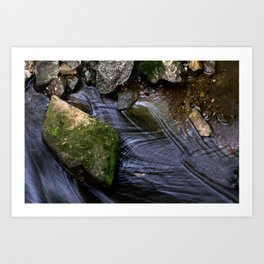 Stream of Water Art Print