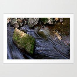 Stream of Water Art Print