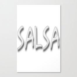 Salsa Salsa D Fania Canvas Print