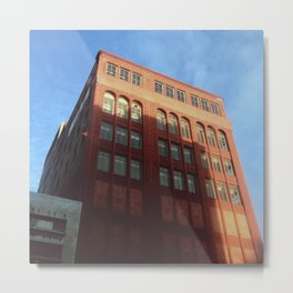1400 Woodward - Downtown Detroit Metal Print