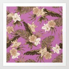Cocoloco - Pink Art Print