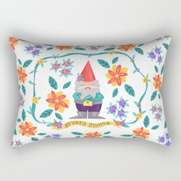 Grumpy Gnome Rectangular Pillow