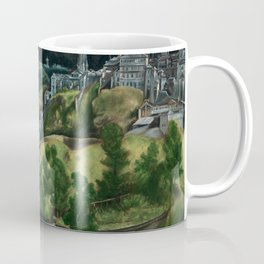 El Greco - View of Toledo Coffee Mug