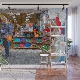 Edinburgh Cothing Shop Wall Mural