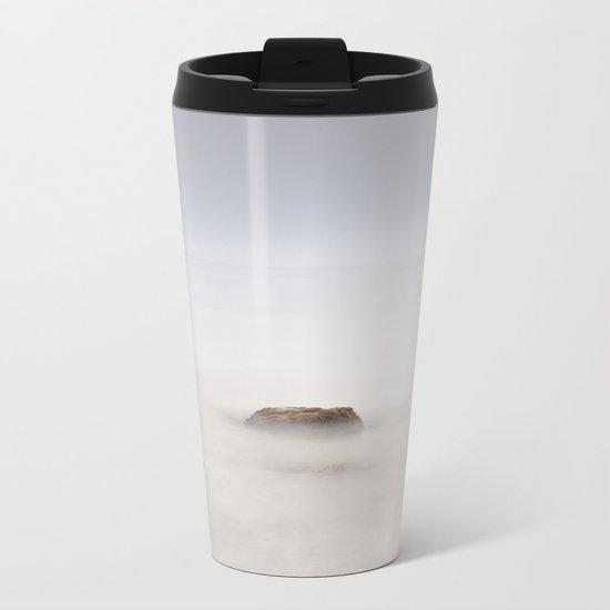 """""""Mistery sea"""" Metal Travel Mug"""