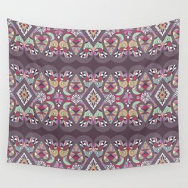Seamless lacy lace pattern background Wall Tapestry