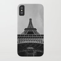 eiffel tower iPhone & iPod Cases featuring Eiffel Tower by Evan Morris Cohen