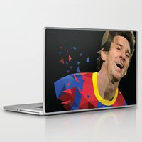 messi Laptop & iPad Skins featuring Messi  by Abhikreationz