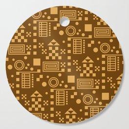 Wonderland Chocolate Cutting Board