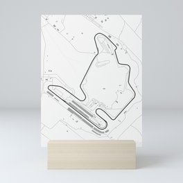 Hungaroring Circuit Map Mini Art Print