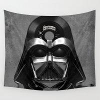 vinyl Wall Tapestries featuring Vader Vinyl by Beery Method