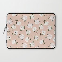 Autumn is calling - blush roses are falling Laptop Sleeve