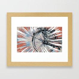The Commute Framed Art Print