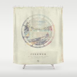 Fernweh Vol 8 Shower Curtain