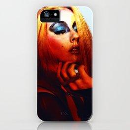Rainbow Bowie  iPhone Case