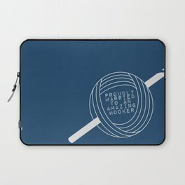 Hooker Love Laptop Sleeve