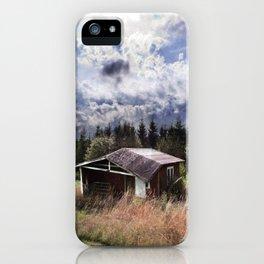 Broken house iPhone Case