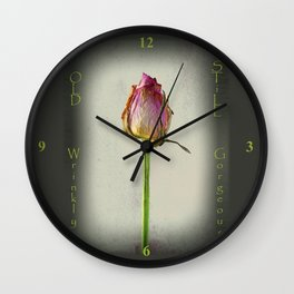 Old, Wrinkly, Still Gorgeous! Wall Clock