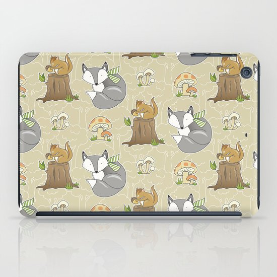 Forest Friends iPad Case