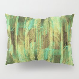 Greeny Dreams Pillow Sham