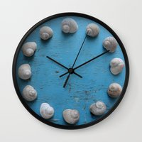 lee pace Wall Clocks featuring Snail's Pace by aeolia